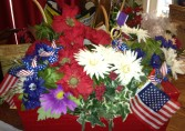 Memorial Service Reception on Flag Day