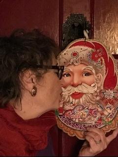 kissingsanta