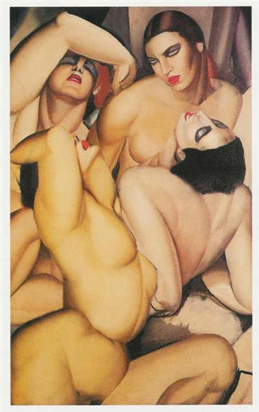 group-of-four-nudes-1925bydelempicka