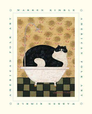 cat-in-tub-folkart