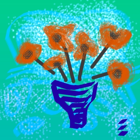 Poppys-fantasia-painting