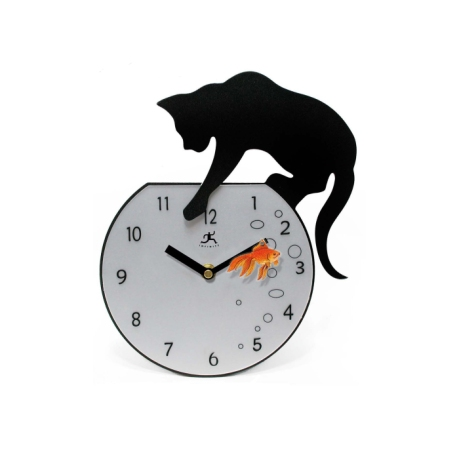 CatwithClock